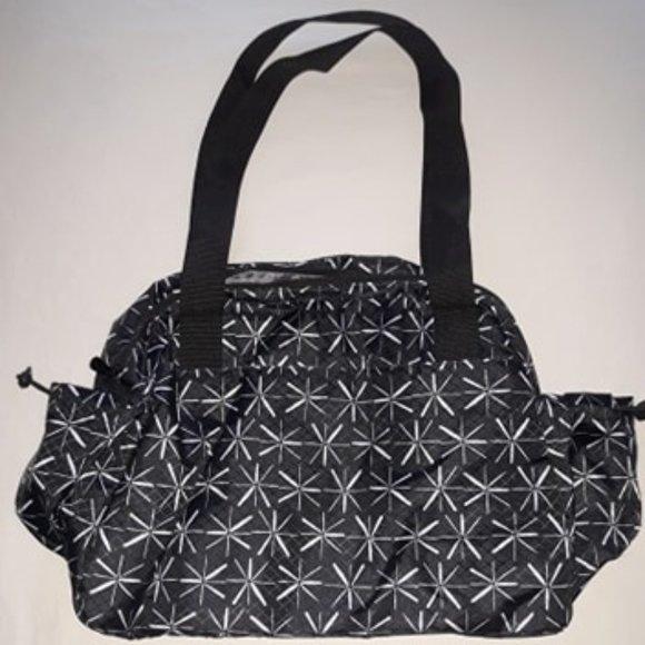 Black Diaper/Utility Bag